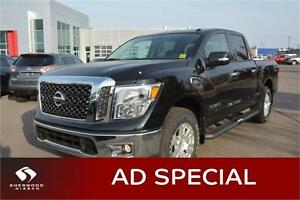 2017 Nissan Titan SV 4X4 GAS Bluetooth, Satellite Radio,