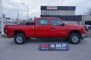 2011 GMC Sierra 2500HD GAS SHORT BOX CREW CAB POWER PKG BOX+
