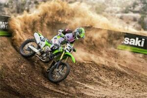 The all New 2019 KX 450 with E Start, call Coopers!