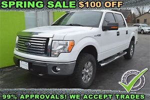 2012 Ford F-150 XLT SuperCrew 5.5-ft. Bed 4WD, Leather Seats