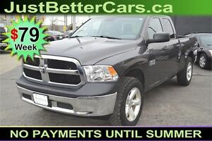 2014 Dodge RAM 1500 Tradesman Quad Cab 4WD, OWN for $79 Weekly