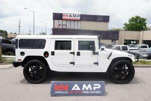 "2003 HUMMER H1 WAGOn MIAMI EDITION 28""Pirelli Leather 6.5L."
