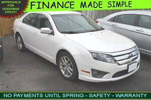 2010 Ford Fusion SEL :::: $39 a week :::: QUICK APPROVAL!