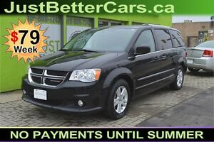 2016 Dodge Grand Caravan CREW - FACTORY WARRANTY, LEATHER, POWER