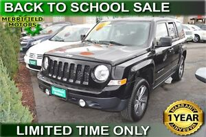 2014 Jeep Patriot Sport North 4WD - LOW PAYMENTS OF $41 a week