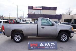 2013 GMC Sierra 1500 Regular Cab 8ft box  4x4 4.3 rare option!