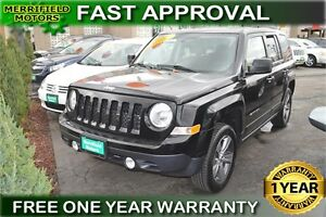 2014 Jeep Patriot Sport 4WD - ONE YEAR WARRANTY!