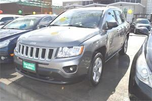2011 Jeep Compass Sport with ONE YEAR WARRANTY with Sunroof