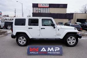 2011 Jeep Wrangler Unlimited Sahara Auto Very Clean! No Fees!