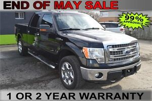 "2013 Ford F-150 4WD SuperCrew 145"" XLT - Drive for $75 Weekly"