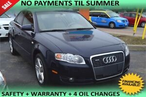 2006 Audi A4 2.0T, LEATHER SEATS, SUNROOF