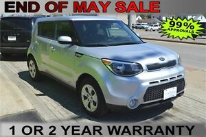 2015 KIA Soul , OWN for $40 Weekly - Let Us Finance You!