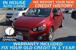 CHEVY SONIC - HIGH RISK LOANS - DRIVE AWAY IN 30 MINUTES!