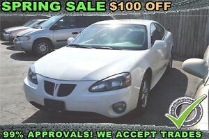 2008 Pontiac Grand Prix sedan, GUARANTEED APPROVAL!