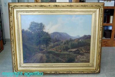 Hermann Ottomar Herzog * 1832-1932 * Südtirol ca. 1865-70 * Ölgemälde Leinwand