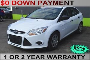 2014 Ford Focus S Sedan, Weekly Payments of $41, Reduced