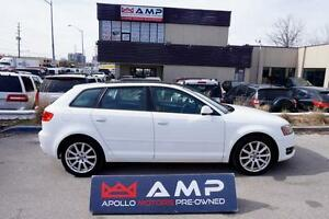 2011 Audi A3 2.0T Premium Auto Leather FWd Skyroof Alloys