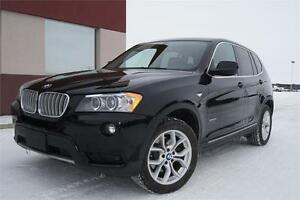 2013 BMW X3 XDrive28i Tech/Exec/Prem pkg! NAV! ONE OWNER!