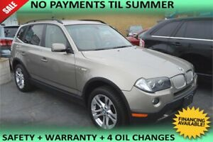 2008 BMW X3 3.0 i, LEATHER SEATS, SUNROOF