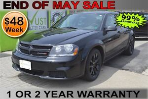 2013 Dodge Avenger , OWN for $48 Weekly - Let Us Finance You!