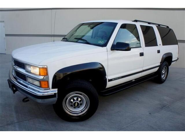 Chevrolet : Other 2500 4WD LT GARAGE KEPT 99 CHEVY SUBURBAN 2500 KT 4X4 ONLY 48K ORIGINAL MILES EXTRA CLEAN!!!
