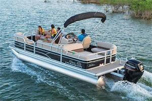 NEW 2017 Sun Tracker Party Barge 22 DLX