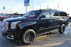 2017 GMC YUKON XL DENALI BLACK ON BLACK LONG ONE