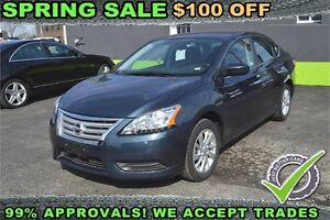 2015 Nissan Sentra SV -- $39 Weekly -- APPLY FOR FINANCE