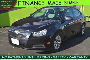2014 Chevrolet Cruze LS is ONLY $46 a week & QUICK APPROVAL!
