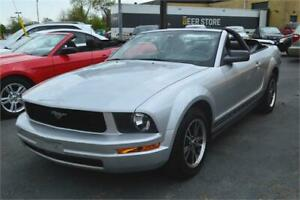 2005 Ford Mustang V6 Convertible  - LEATHER SEATS - 55,000 MILES