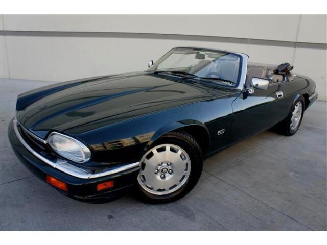 Jaguar : XJS LOW MILES GARAGE KEPT 1996 JAGUAR XJS CONVERTIBLE ONLY 51K MILES LEATHER WOOD CD CHANGER!!