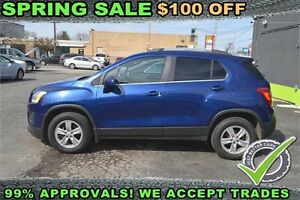 2013 Chevrolet Trax LT AWD -- $49 Weekly -- APPLY ONLINE/FINANCE