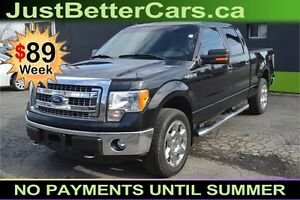 "2013 Ford F-150 4WD 145"" XLT -- LEATHER SEATS - BACKUP CAMERA"