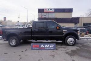 2008 Ford Super Duty F-450 DRW Lariat 4x4 DIESEL LEATHER DUALLY!