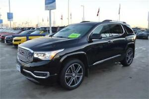 2018 GMC ACADIA DENALI NEW DEMO BLACK just 5200 km