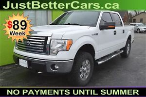 2012 Ford F-150 XLT SuperCrew 5.5-ft. Bed 4WD -- Leather Seats
