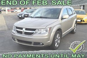 2009 Dodge Journey SXT, LEATHER - SUNROOF - 7 PASSENGER