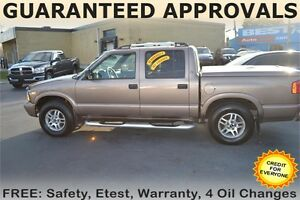 2002 GMC Sonoma SLS Crew Cab 4WD - LEATHER SEATS