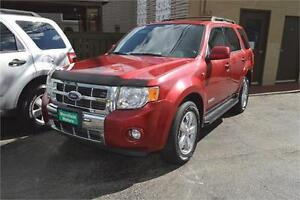 2008 Ford Escape Limited 4WD - Sunroof - Leather Windsor Region Ontario image 1