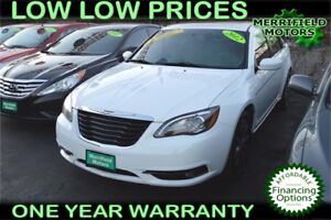 2012 Chrysler 200 S - $52 a Week - Sunroof - Leather - Loaded