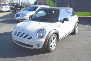 2009 Mini Cooper  with LEATHER - SUNROOF