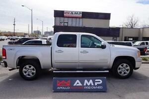 2011 GMC Sierra 1500  4X4 LEATHER 5.3L CREW BOARDS LOADED