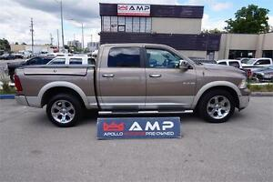 2010 Dodge Ram 1500 Laramie 4wd side storage Navigation HEMI.
