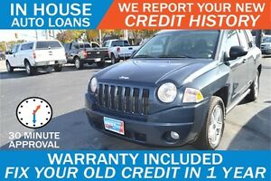 JEEP COMPASS SPORT - HIGH RISK LOANS - APPROVED IN 30 MINUTES