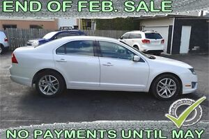 2010 Ford Fusion SEL -- $34 a week -- QUICK FINANCE APPROVAL!
