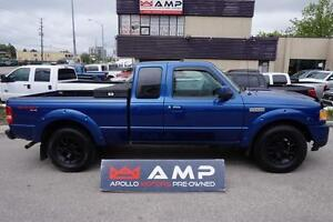 2010 Ford Ranger Sport 4x4 Auto 4.0L power windows CERTIFIED