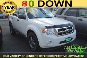 2011 Ford Escape XLT 4WD - LOW PAYMENTS OF $40 a week