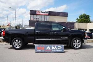 2014 Chevrolet Silverado 1500LTZ 4X4 CHROME SUNROOF NAVI LEATHER