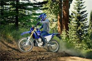 YAMAHA LAVAL : WR250R, /// DOUBLE USAGE /// ... * 29.99 SEM.