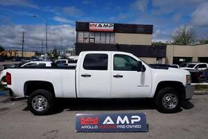 2013 Chevrolet Silverado 2500HD GAS 6.0L 4X4 CREW SHORT BOX
